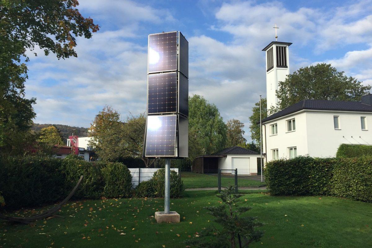 De l'énergie solaire sans panneaux sur le toit, c'est possible!