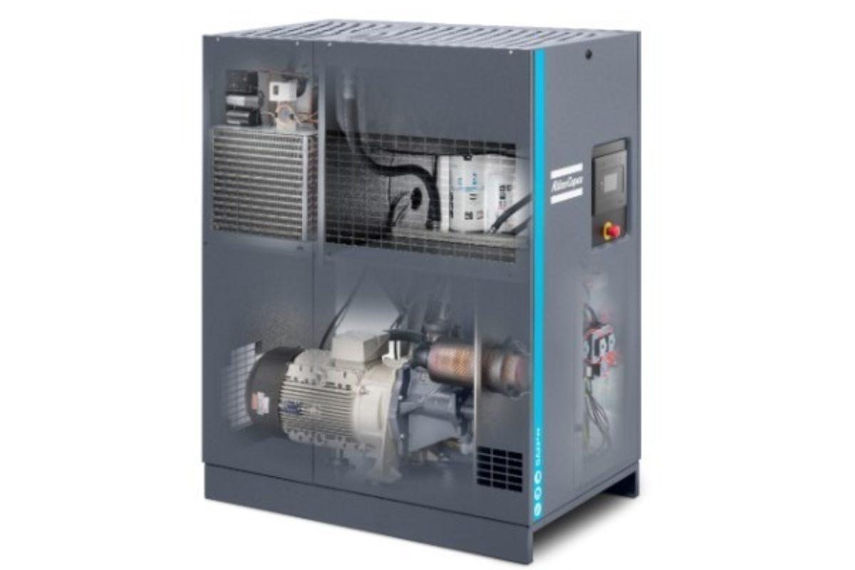 Atlas Copco optimise ses compresseurs à vis à injection d'huile