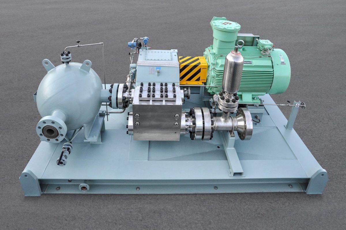Nouvelles pompes Lewa API674 à très haute pression et à tête forgée