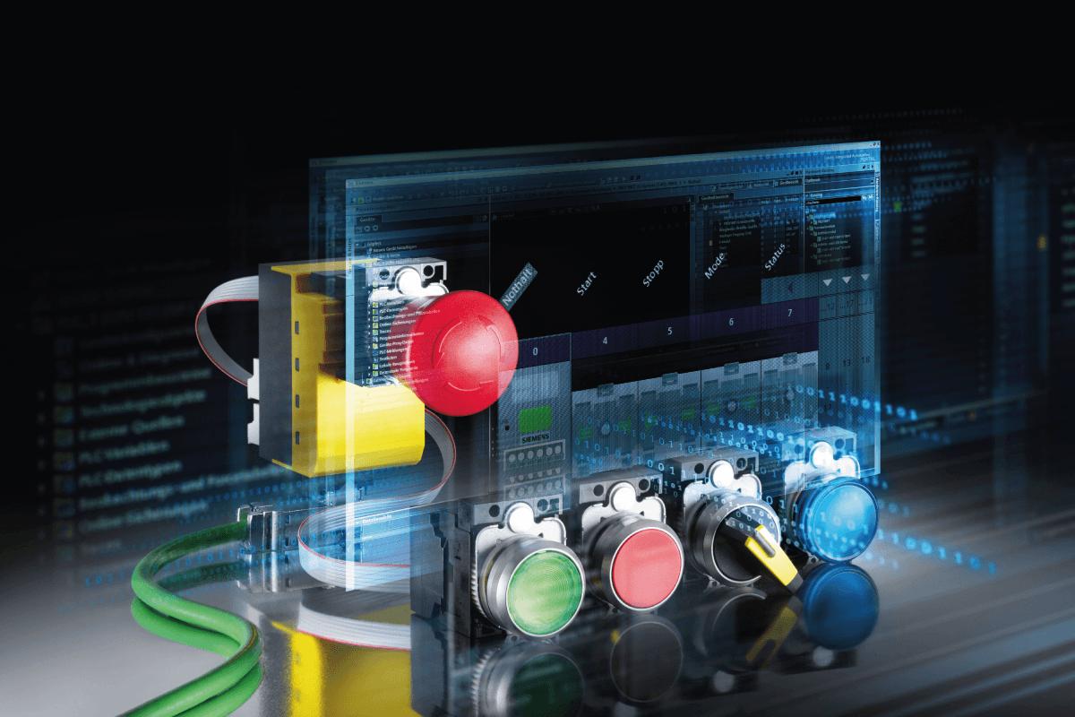 Transition facilitée vers la dernière gamme de boutons poussoirs Siemens