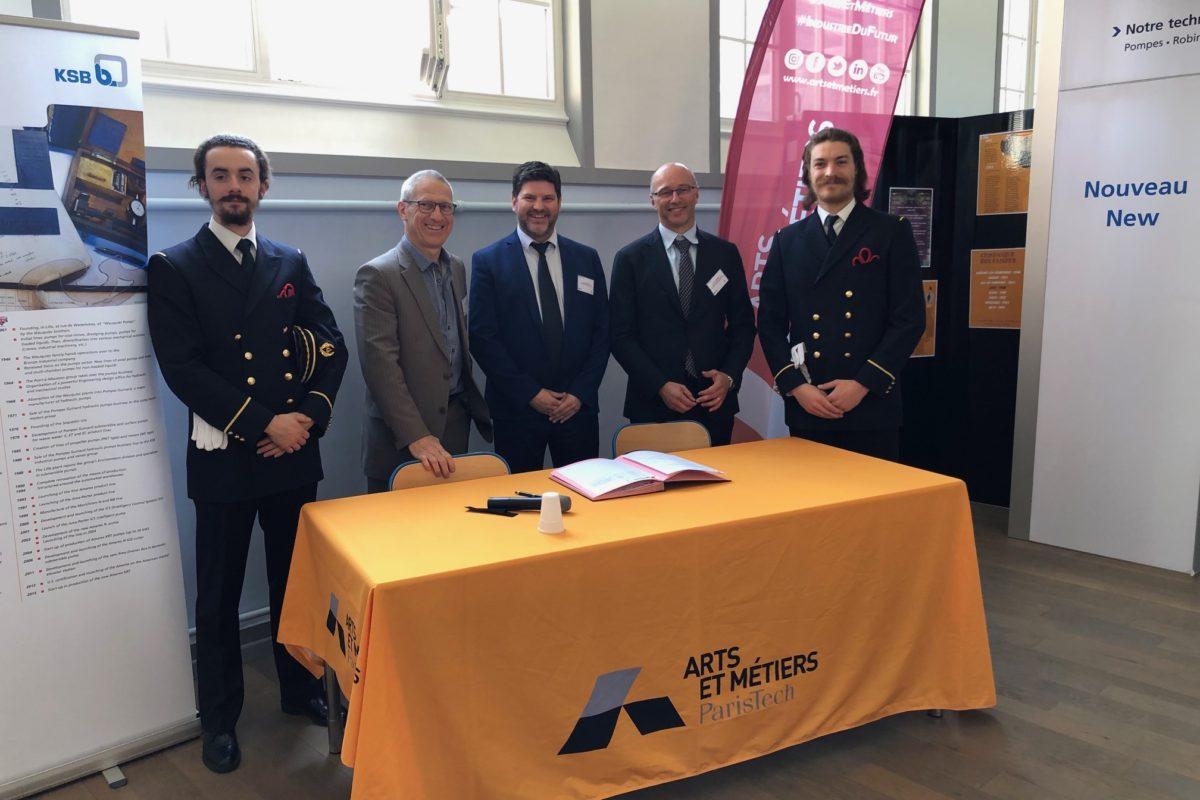 Le campus Lillois d'Arts et Métiers et KSB signent un partenariat d'avenir pour l'industrie