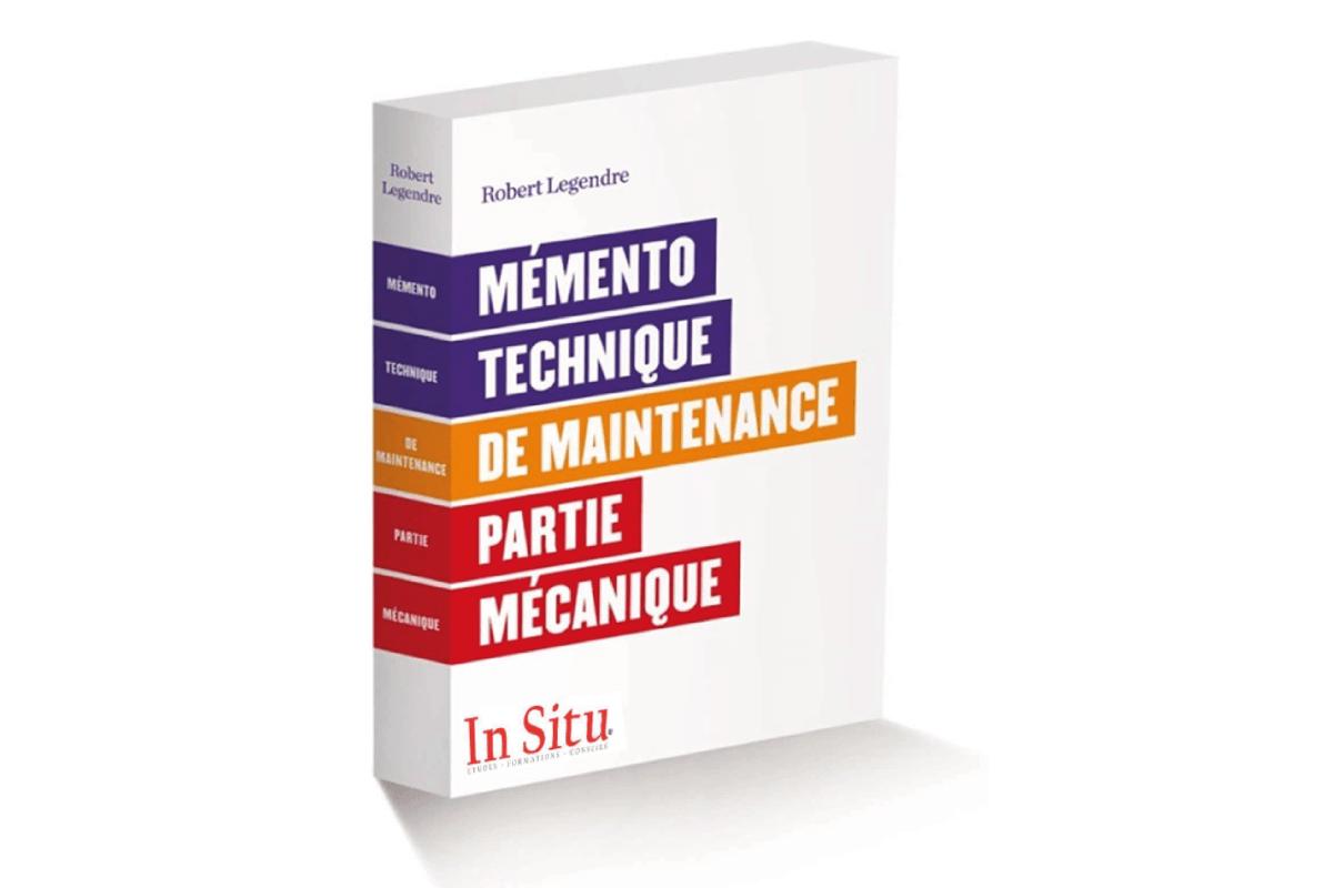 """Livre du mois: """"Mémento technique de maintenance – partie mécanique"""""""