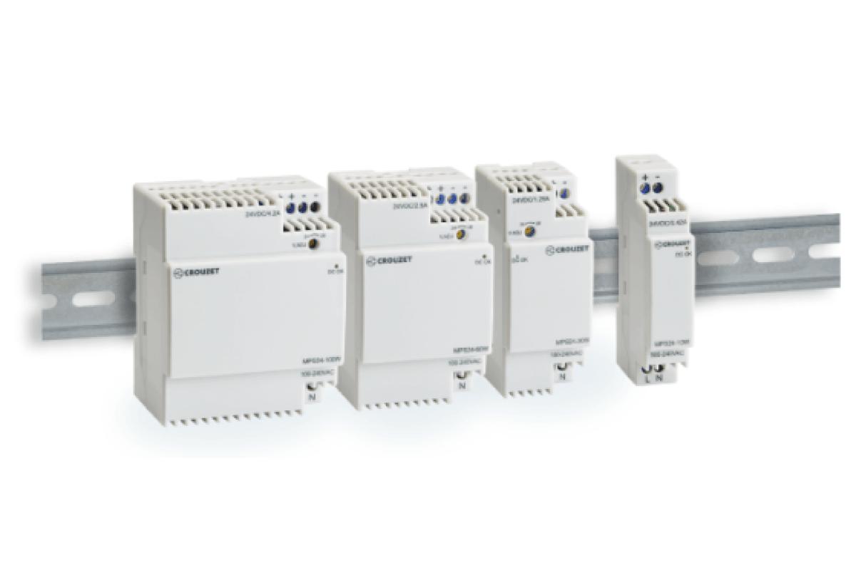 Nouvelles alimentations électriques, plus compactes et très efficientes jusqu'à 100 W
