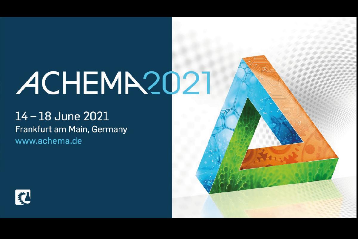 Le salon ACHEMA 2021:  un nouveau look, de nouvelles thématiques; les inscriptions exposants sont ouvertes!