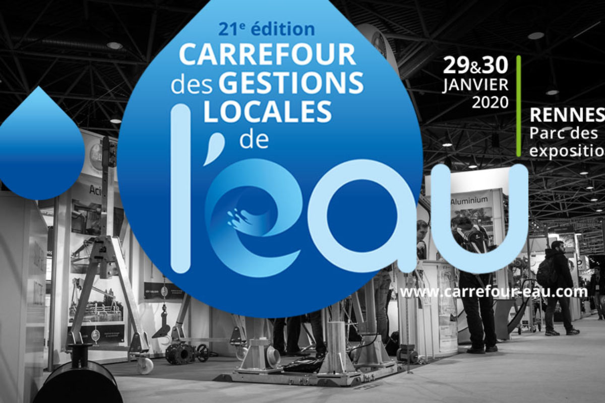 Le 21ème Carrefour de l'eau va commencer à Rennes: qu'en est-il de la gestion de l'eau et de l'assainissement en France ?
