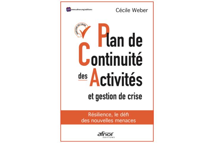 """Livre du mois: """"Plan de continuité des activités et gestion de crise"""""""
