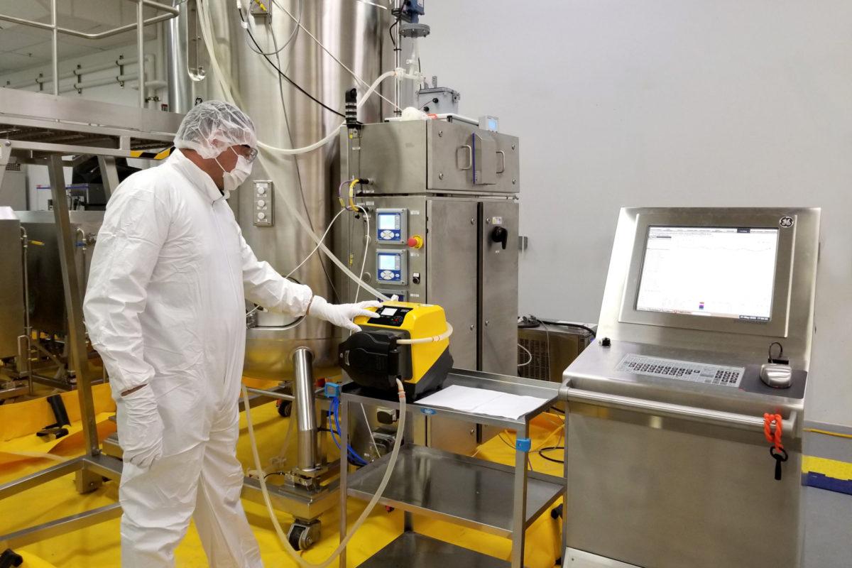 Une nouvelle gamme de pompes péristaltiques EtherNet/IP pour l'industrie pharmaceutique