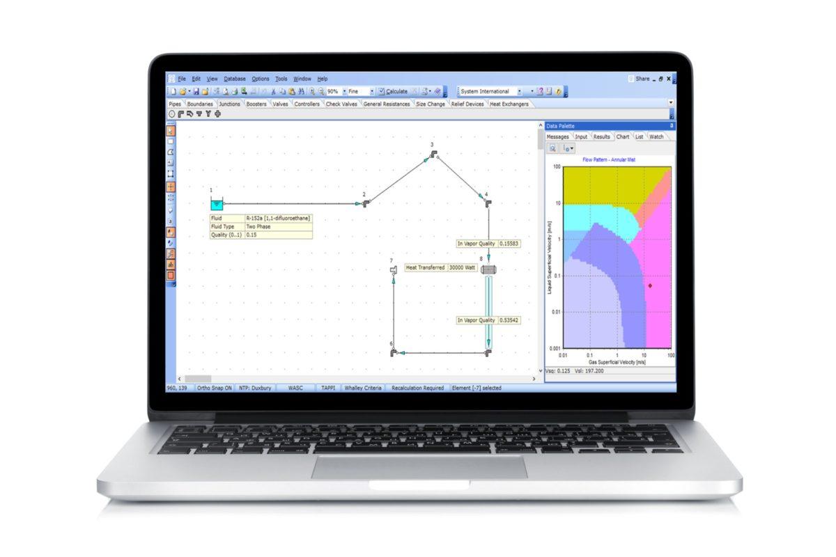Un logiciel de calcul de pertes de charge aux capacités impressionnantes