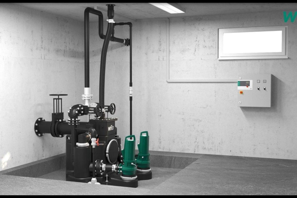 Relevage d'eaux usées: un ingénieux système pour éviter le bourrage réduire l'entretien