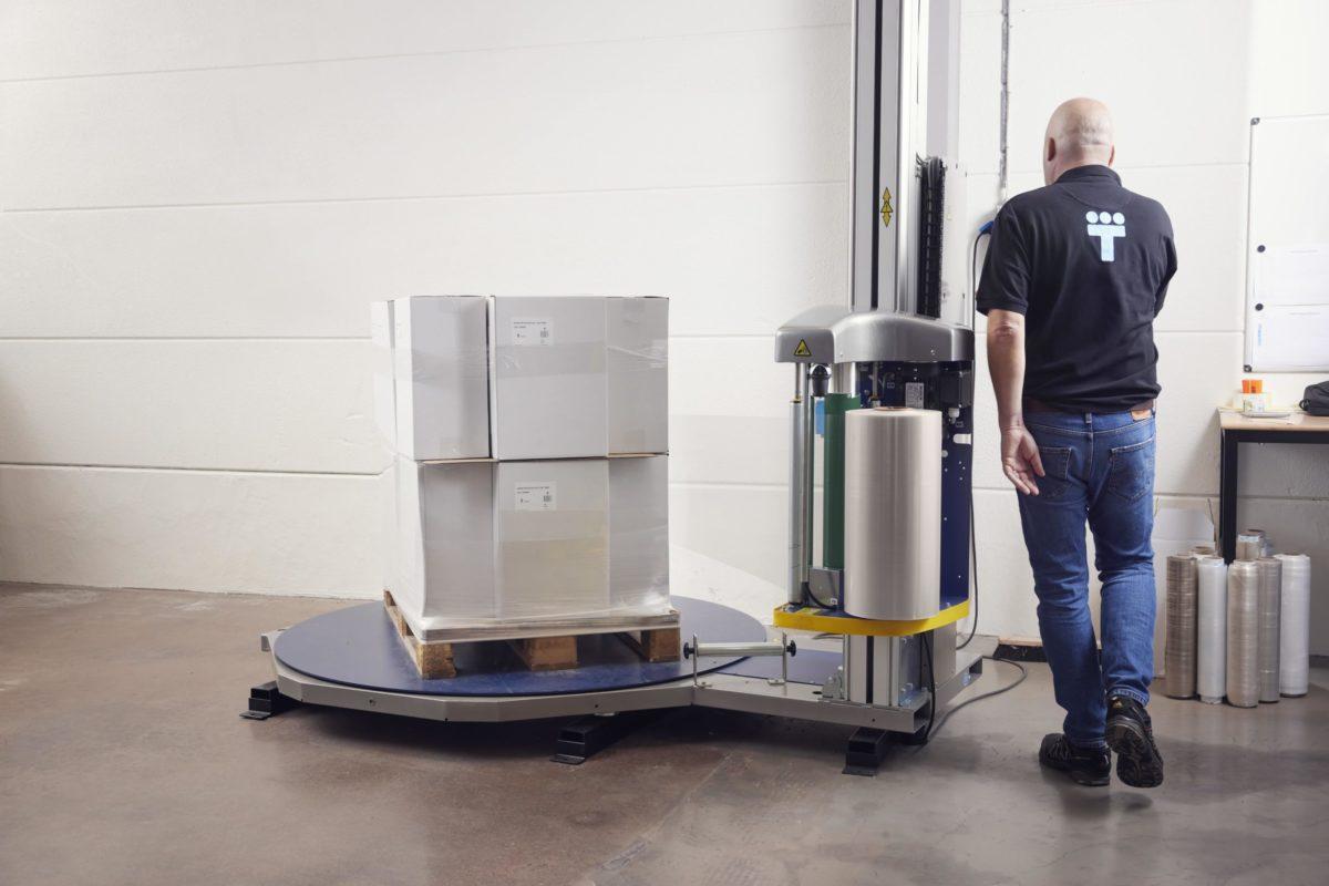 Emballage : un film étirable machine en grande partie recyclé pour l'industrie