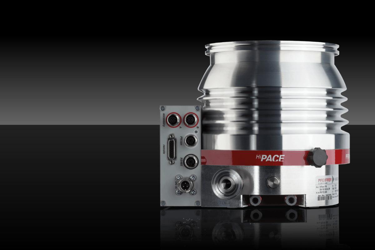Vide poussé : une pompe turbomoléculaire à roulements hybrides