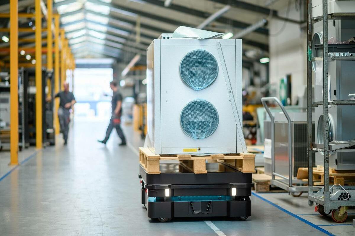 De puissants robots mobiles autonomes au service de votre logistique industrielle