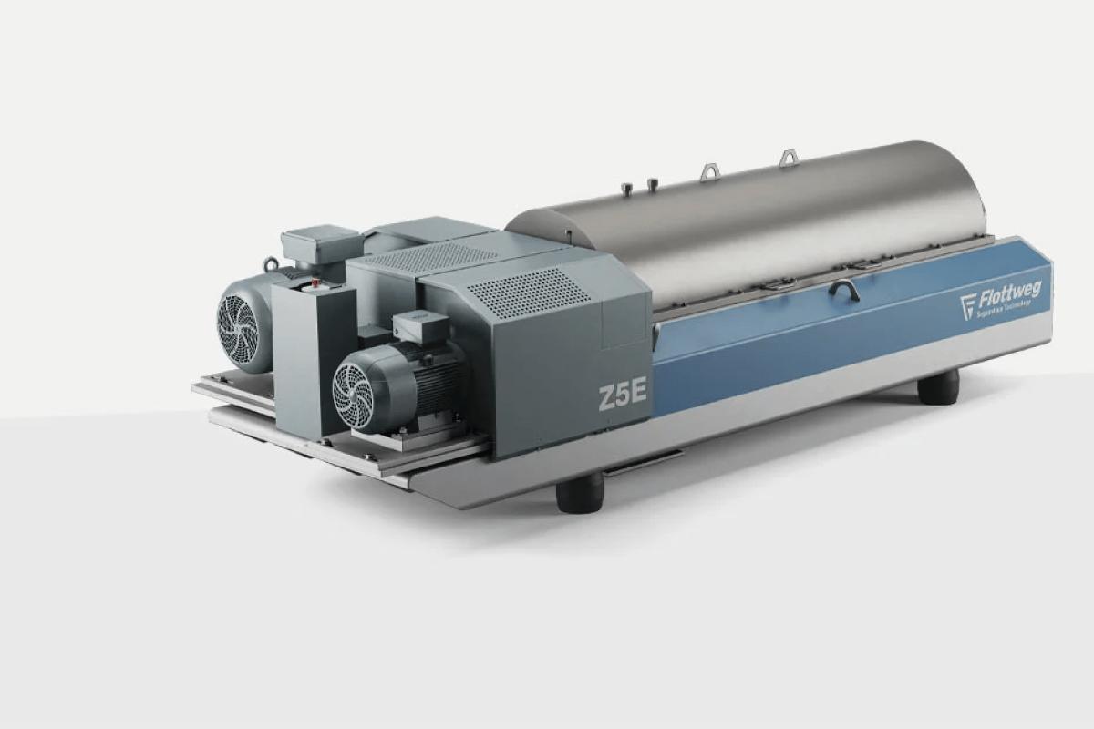 Les décanteurs centrifuges à vis convoyeuse ajourée plus efficace pour le traitement des eaux usées
